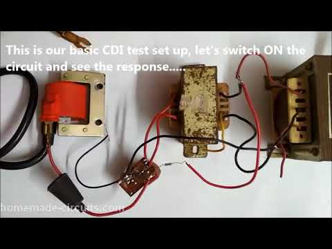 How to Build and test a CDI circuit at Home