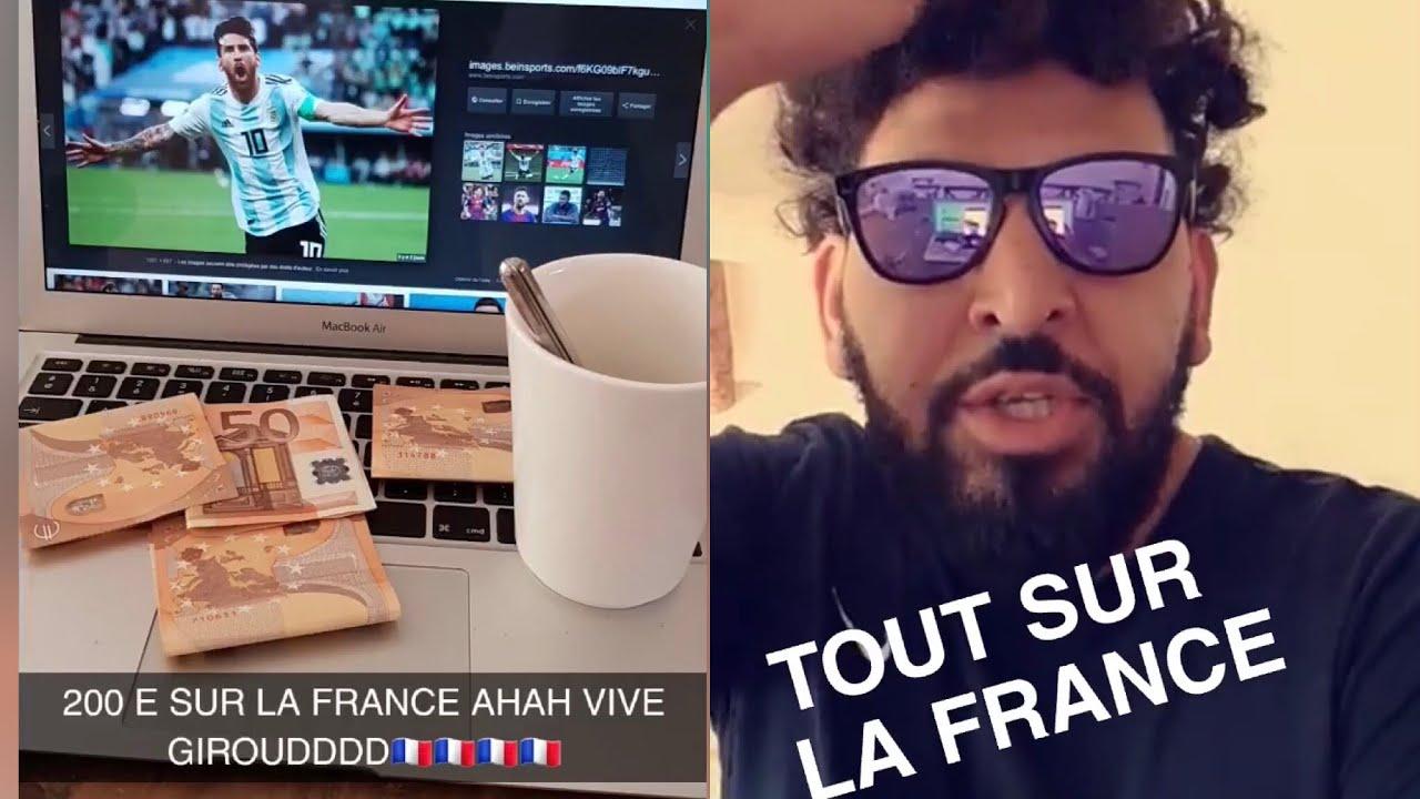 Mohamed Henni «TOUT SUR LA FRANCE 🇫🇷 LES AMIS !»