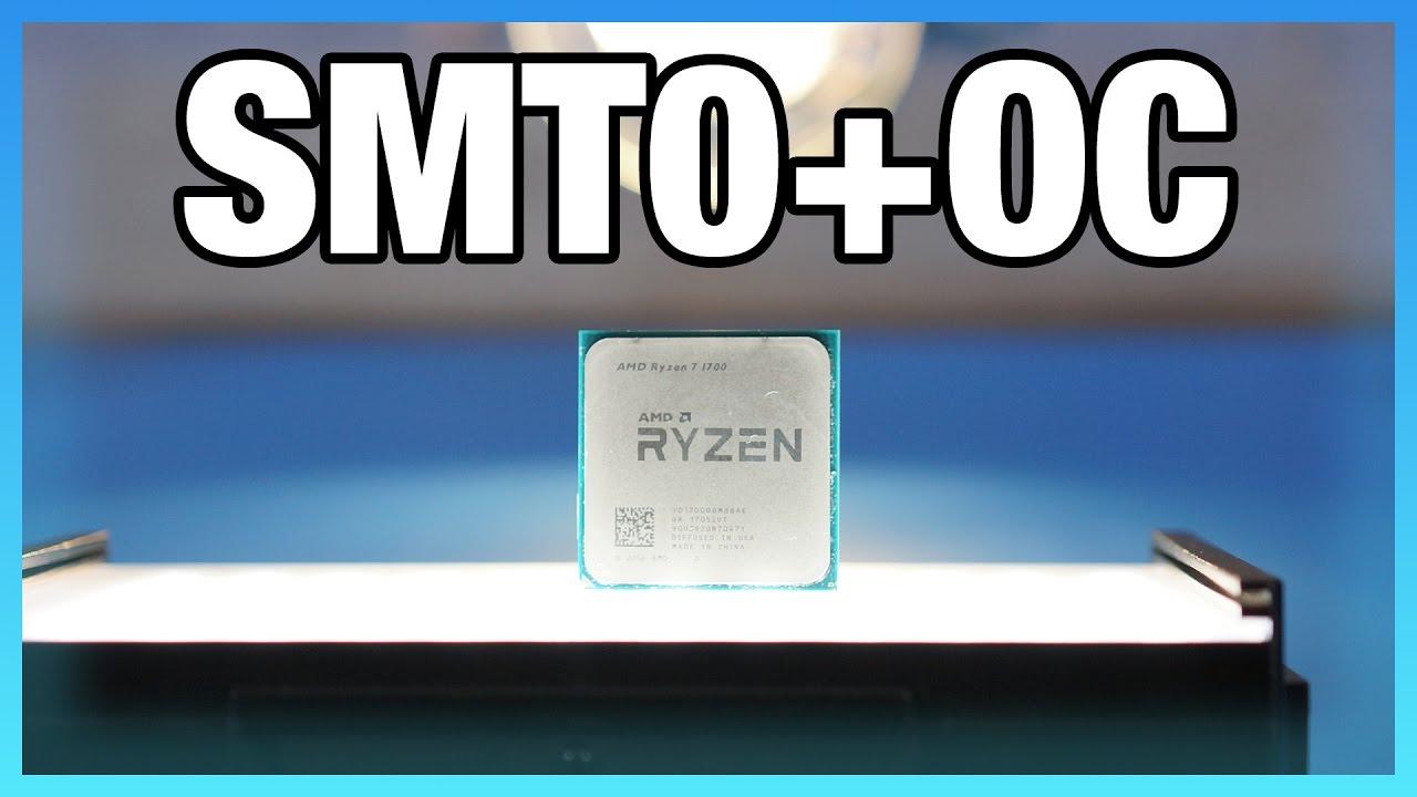 AMD R7 1700 SMT Off + Overclock Benchmarks | GamersNexus