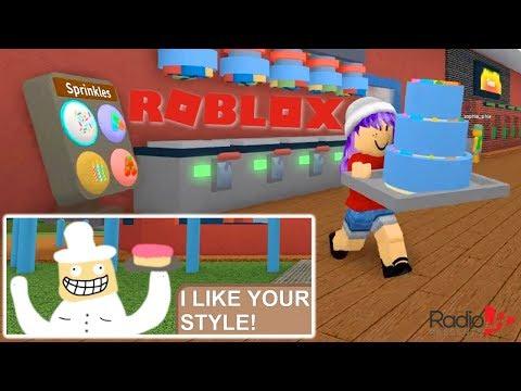 🎂 BAKERS VALLEY IN ROBLOX   RADIOJH GAMES