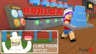 🎂 BAKERS VALLEY IN ROBLOX | RADIOJH GAMES