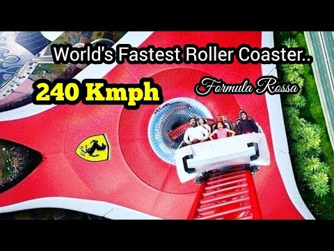 Formula Rossa – Ferrari word | Dubai  TBH