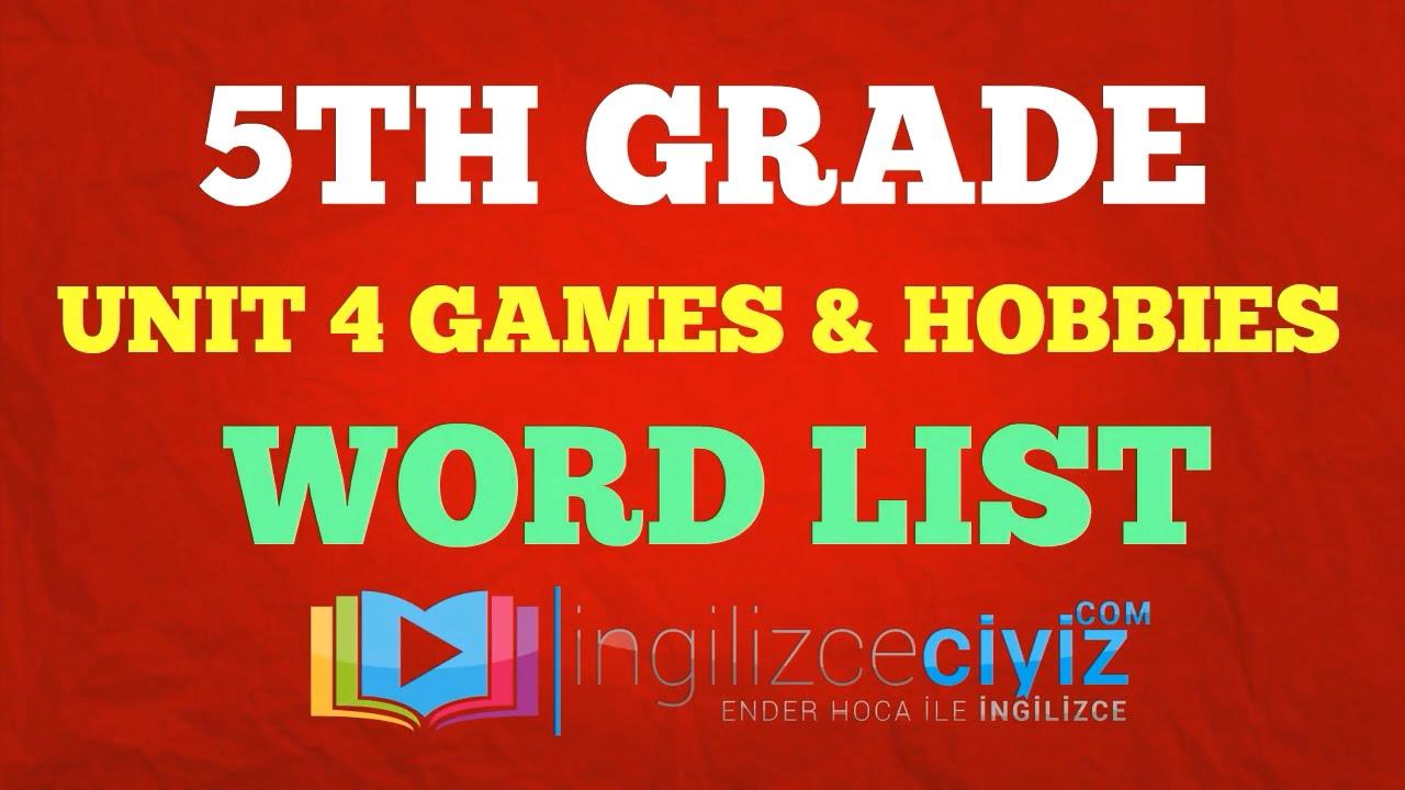 children s hobbies list