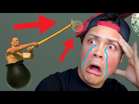 THIS GAME MADE ME CRY OF RAGE 😥(Getting Over It) streaming vf