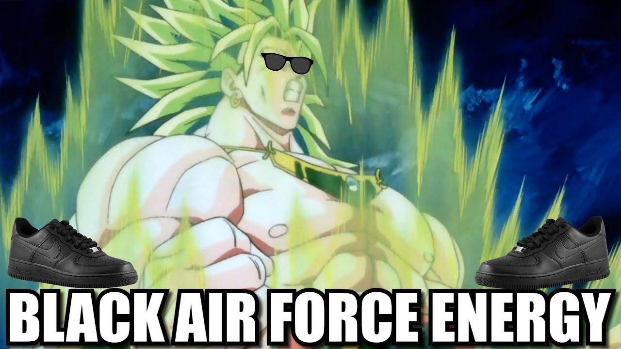 Download BROLY RADIATES BLACK AIR FORCE ENERGY