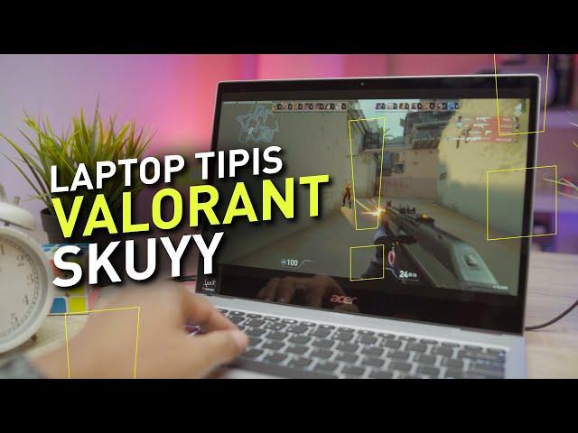 LEH UGAAA !!! Laptop Kerja TAPI Bisa Buat GAMING | Review Acer Spin 3 SP313 51N 58RG