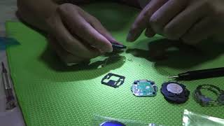 DIY - Changed LCD for GX56 (G-Shock)