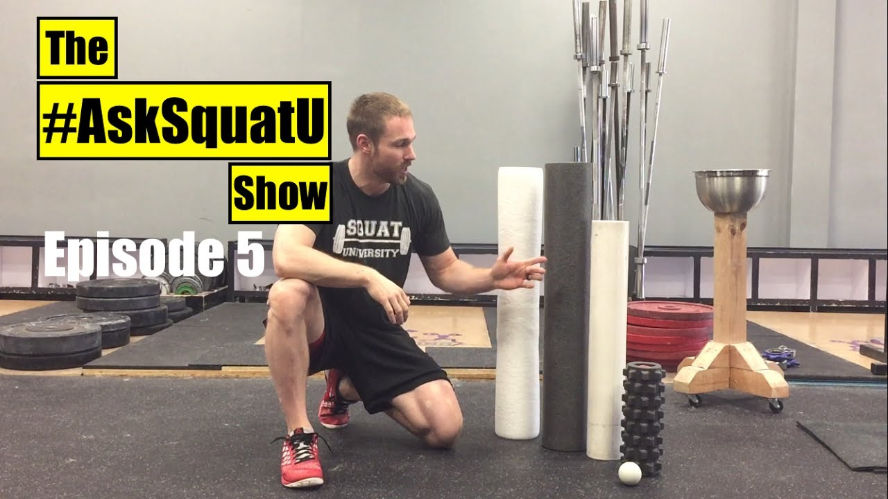 How To Warm Up For Squatting Asksquatu Show Ep 5