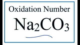 How to find the Oxidation Number for C in Na2CO3     (Sodium carbonate)