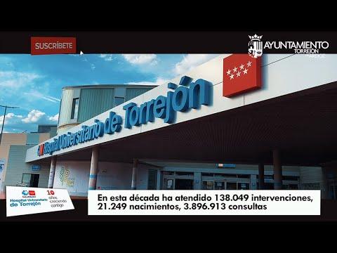 El Hospital Universitario de Torrejón cumple 10 años