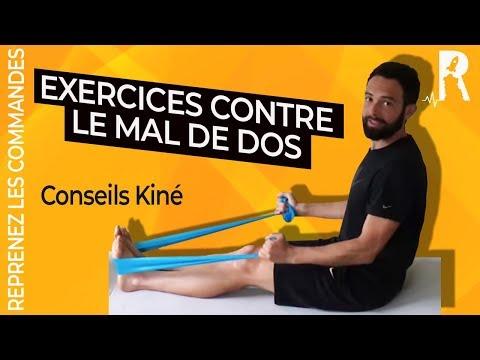 MAL de DOS : le soulager grâce aux Exercices et aux Étirements