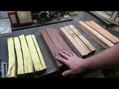 custom knife handle wood