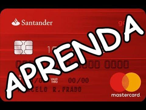 Como Tirar Fatura Boleto Do Cartao Santander Tutorial Youtube