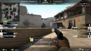 CS GO Competitive Pistol Frags Only Dust2