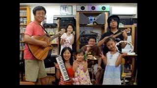 八ヶ岳倶楽部夏のコンサート、下田秀明と仲間達バンドの演奏、若者たち...