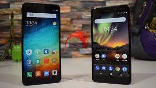 Nokia 6 2018 vs Redmi Note 5 Pro: Speed Test!!!