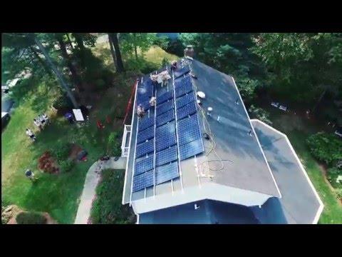 Apex Solar Power Installation Video HD