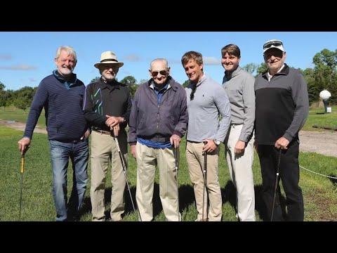 100-year-old Golfer's Birthday Wish Granted