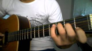 Hướng dẫn Guitar When the children cry (P2)