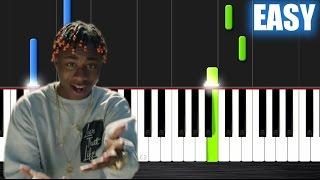 Zay Hilfigerrr & Zayion McCall – Juju On That Beat - EASY Piano Tutorial by PlutaX