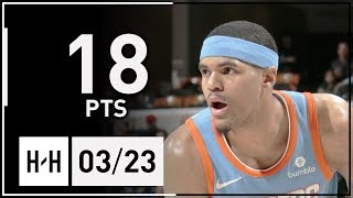 Tobias Harris Full Highlights Clippers vs Pacers (2018.03.23) - 18 Pts!