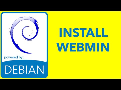 Debian - How to install Webmin