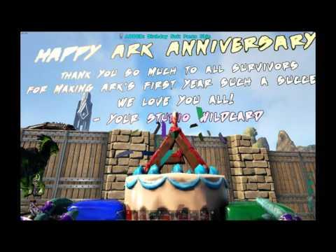 ARK Survival Evolved Birthday Cake Recipe