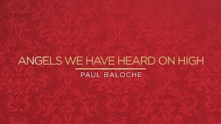 """Angels We Have Heard On High (Deo)"" from Paul Baloche (OFFICIAL RESOURCE VIDEO)"
