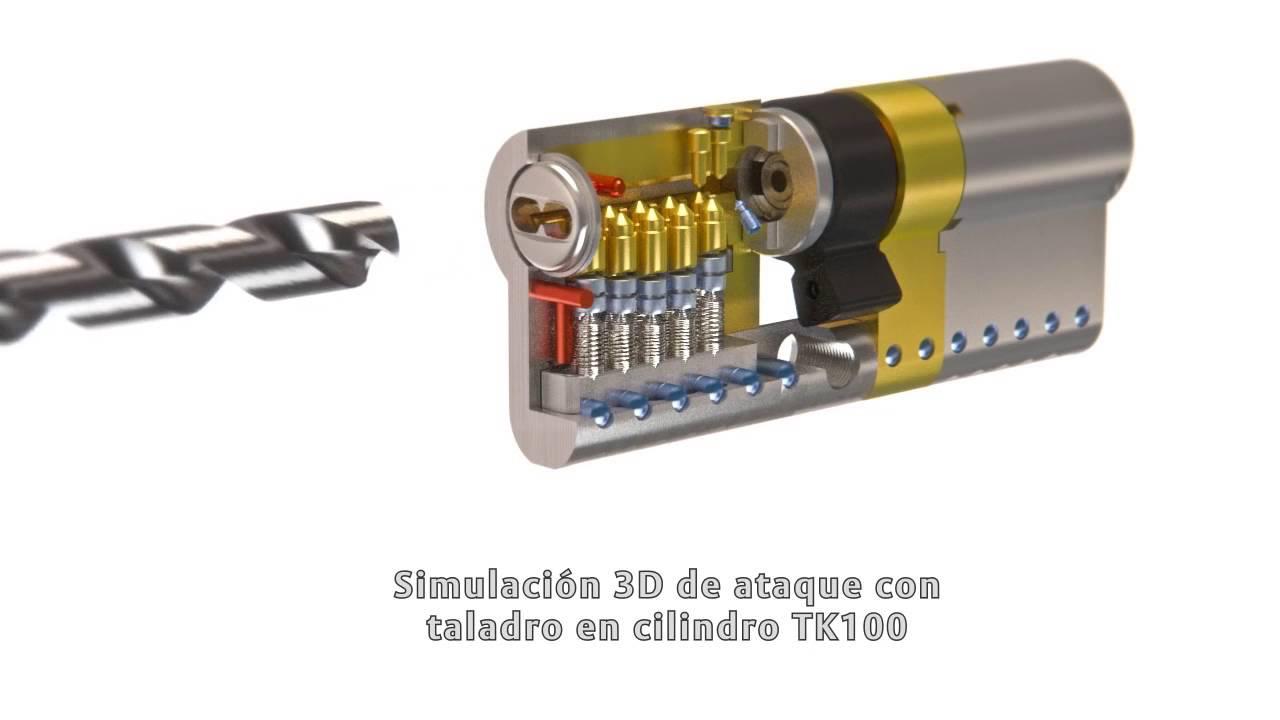 de calidad superior sombras de novísimo selección Cilindro TESA TK100 con protección Anti-Bumping
