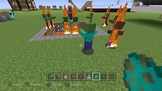 [tutorial minecraft] trampa de mobs en minecraft paso a paso (pato Gamer)