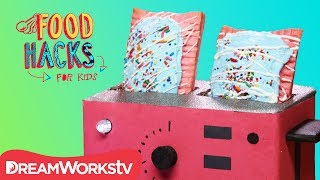 Funfetti Pop Tarts + More Funfetti Hacks! | FOOD HACKS FOR KIDS