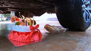 Crushing Cruhy &amp Sotf Things Car-Coca Cola, Cake, Cake, Arip, Plane.....