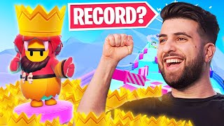 WINNING EVERY GAME of Fall Guys! Winstreak WORLD RECORD!?