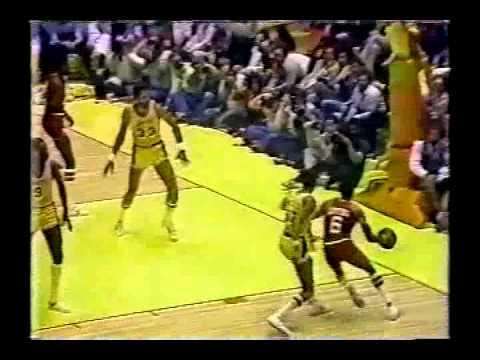 Julius Erving Dunks Twice Over Kareem Abdul-Jabbar: 1980 NBA Finals Game 5