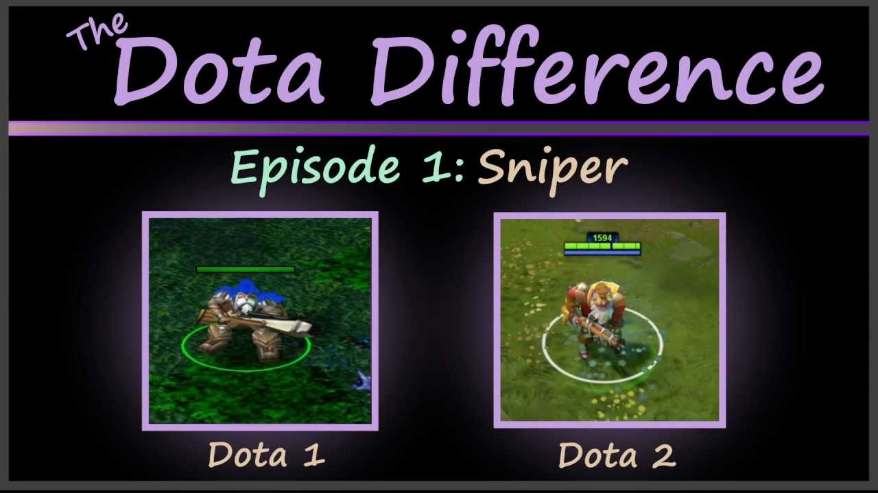 dota 1 vs dota 2 mechanics the dota difference vol 1