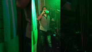 Quick clip of McGuillicuddy on stage loaded right before we play a tune