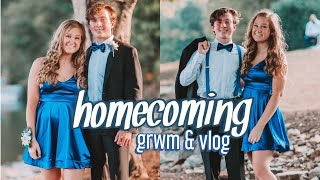 homecoming 2019 get ready with me + VLOG