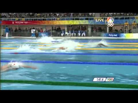 Men's 4x100 freestyle relay beijing 2008 HD