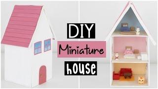 DIY Miniature Dollhouse - Cute Miniature House For Dolls