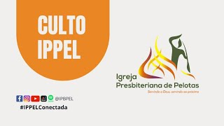 Culto On-line | IPPel 11/04/21 - 19h30