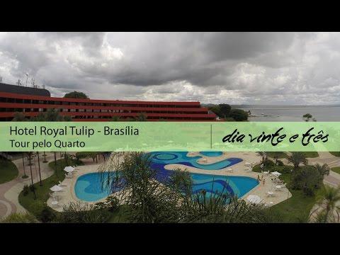 Royal Tulip Brasília DF - Conheça o Quarto Luxo Varanda Estendida