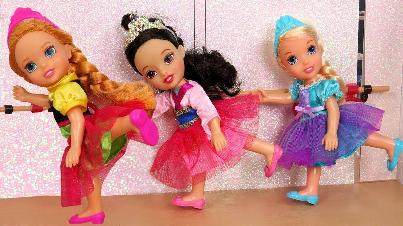 BALLERINA ! Elsa & Anna toddlers - Ballet Classes - Dance lessons