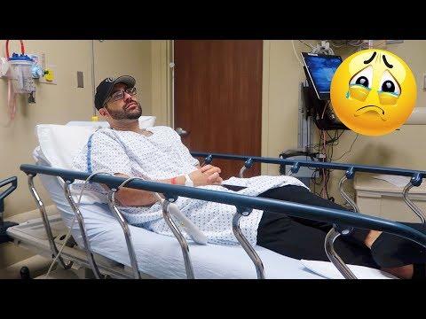 SHE TOOK ME BACK TO THE HOSPITAL!