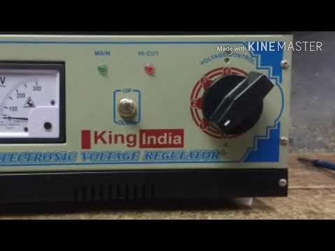 How To Make A 3kVA  AUTOCUT / MANUAL Voltage Stabilizer | Skill Development