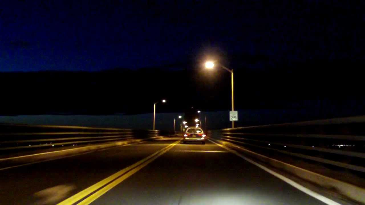Robert Moses Causeway Northbound Night