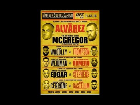 UFC 205: Confirmed, Who will headline, Mcgregor not on the card?