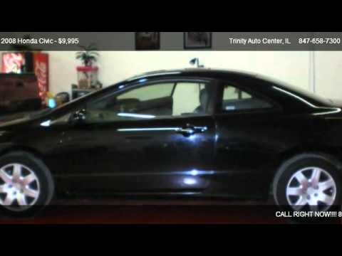 2008 Honda Civic LX coupe - for sale in Guaranteed Finance Approval - , IL 60156