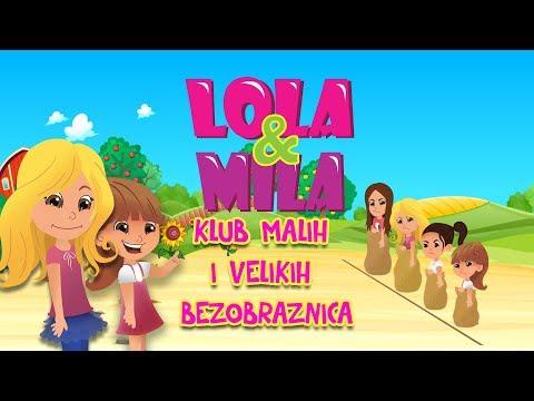 LOLA & MILA // KLUB MALIH I VELIKIH BEZOBRAZNICA // CRTANI FILM (2019)