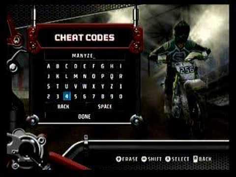 <b>Cheat</b> for <b>mx vs atv untamed</b> xbox 360