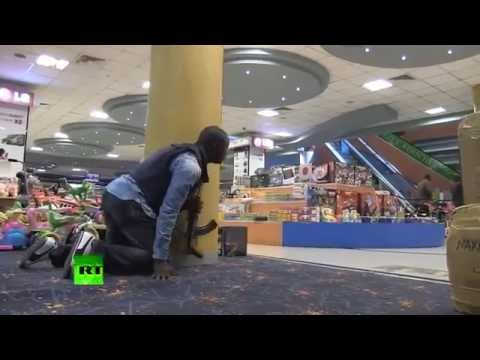 EXCLUSIVE RAW! Footage Nairobi Kenya Mall Attack 68 Killed Dead™